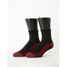 彈跳人生微分子長薄襪-黑色