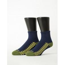 彈跳人生微分子長薄襪-藍色