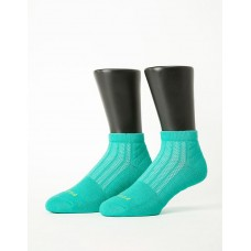 輕壓力氣墊機能襪-綠色