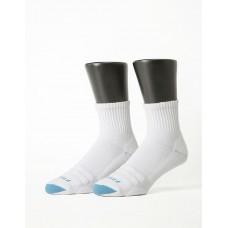 螺旋氣墊輕壓力襪-白色