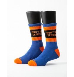 狂野靈魂運動氣墊襪-橘色