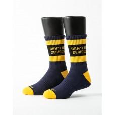 狂野靈魂運動氣墊襪-黃色