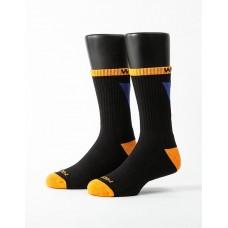 做自己運動氣墊襪-橘色