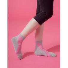 X系列輕壓力機能氣墊襪-灰色