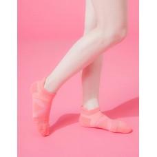 X型減壓經典護足船短襪-桃紅