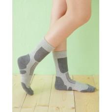 減壓顯瘦登山運動襪-灰色