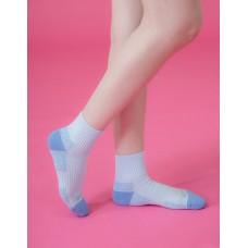 俄羅斯方塊輕壓力襪-藍色