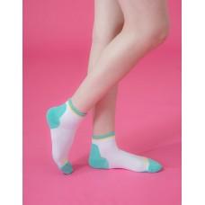 樂活時代輕壓力襪-白色