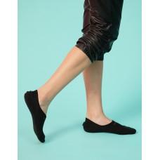 低型船短襪-黑色