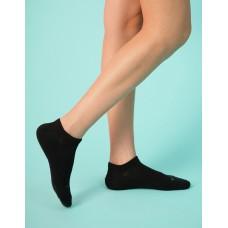 單色船型薄襪-黑色