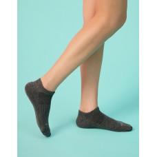 單色船型薄襪-深灰