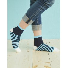 繽紛女款親子襪-藍色