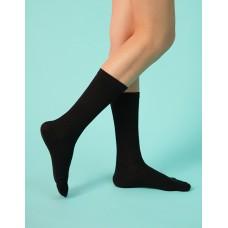 淑女素面五趾長襪-黑色