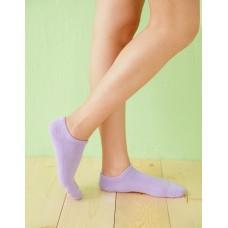 繽紛一點點船型薄襪-紫色