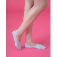 偶陣雨低型隱形襪-粉藍