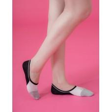 夏日小調低型隱形襪-黑色