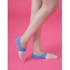 雙色派對船短隱形襪-粉紅頭